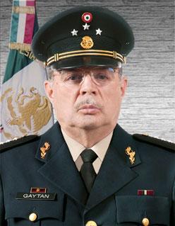 Carlos Demetrio Gaytán Ochoa. Foto: Sedena