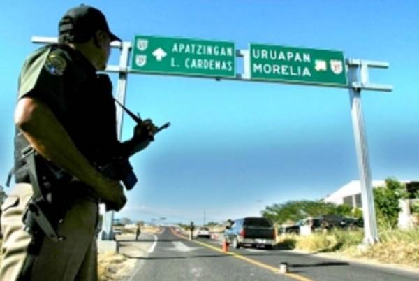 Camino a Uruapan. Foto: Especial