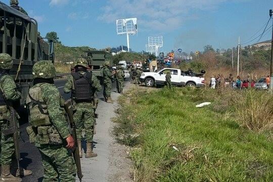 Caos en Jalisco. Foto: Especial